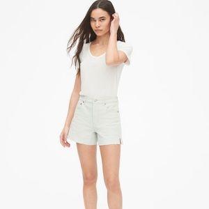 Gap High Rise Denim Shorts